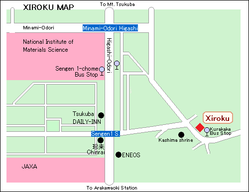 Narrow Area Access Map