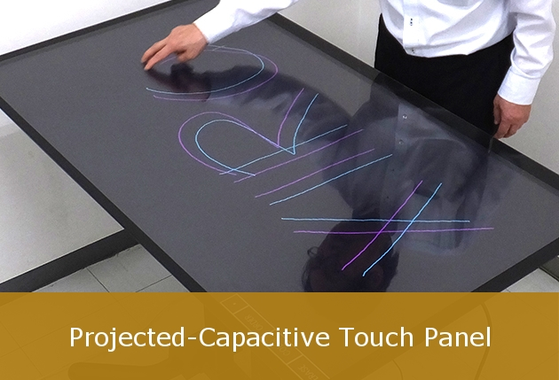 Projected-Capacitive touch panels